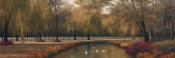 Diane Romanello - Weeping Willow Panel