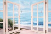 Diane Romanello - Sandpiper Beach through Door