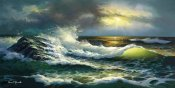 Diane Romanello - Ocean Waves
